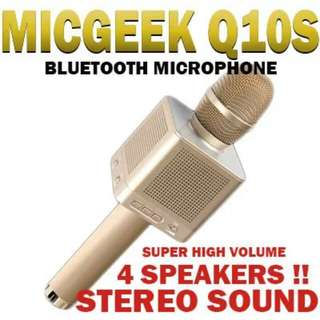 Bluetooth Microphone with 4 Speakers !!!