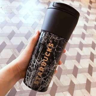 Starbucks Marble Warming Travel Bottle 連杯套隨行保溫杯 星巴克