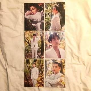EXO OFFICIAL - EXO PLANET #4 The EℓyXiOn Official Postcard Set