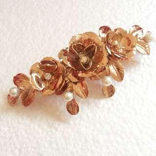 Rose Gold Hair Clip