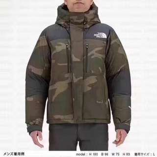 The north face北面2017最新款羽绒服