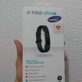 Fitbit Alta HR 100%new新 S size