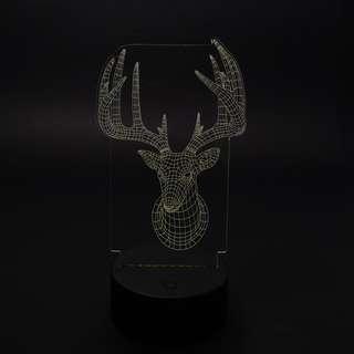 3D Hologram LED Light