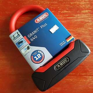 Abus Bicycle Lock (Granit Plus 640)