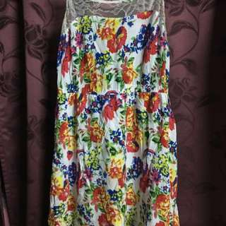 FLORAL DRESS Rm20 include postage
