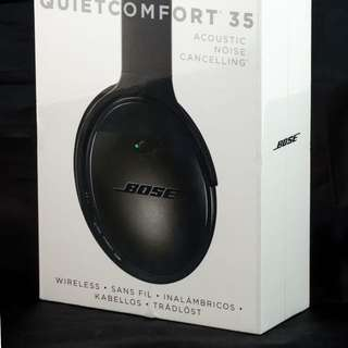 [MINT] 99.9% NEW BOSE QuietComfort QC35 Headphone 降噪耳機