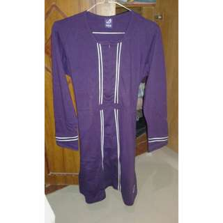 Baju / Tunik/ Blouse Merk Rabbani size M tapi bisa muat sampe XL kecil (LD 100)