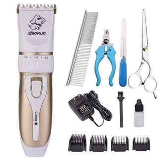 現貨兩組 寵物剃毛器電推剪 贈送鋼剪刀/指甲剪/鋼排梳/銼刀