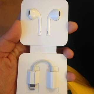 Earpods + Earpods Jack from iPhone 7