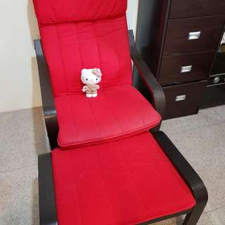pooang chair n leg rest any offer,?