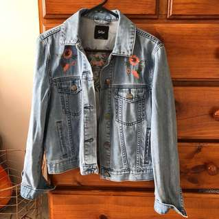 Sports girl denim jacket