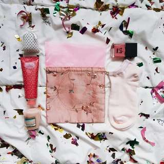Pink Party Pouch