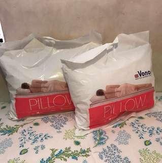 全新枕頭2個 不散賣