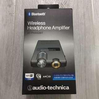 audio-technica AT-PHA50BT Bluetooth Portable Headphone Amplifier (全新未開封)