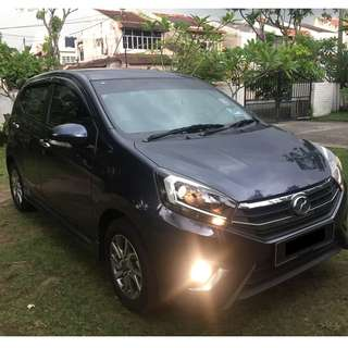 PERODUA AXIA 1.0 ( A ) SE SPORT EDITION 2017 FOR SALE!!