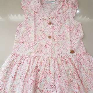 Dress anak 3-4yrs
