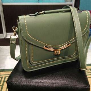 Sling Bag (Greyish Green)