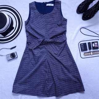 YSL printed dress