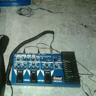 Guitar Multi effects processor Boss ME50