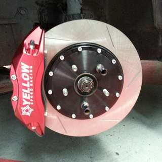 Yellowspeed 6pot 345mm Brakes For Subaru