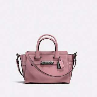 Coach swagger 27 Dusty Rose/Dark Gunmetal