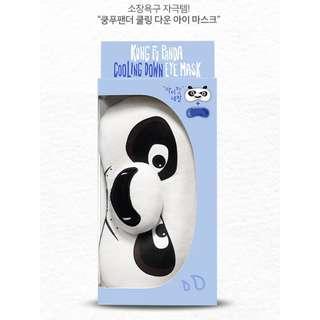 韓國帶回 夢工廠功夫熊貓 降溫眼膜