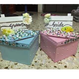 Ang Bao Box (Wedding) x 2 (Bride & Groom)