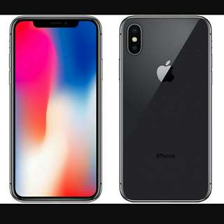 Iphone x (space grey) 256G