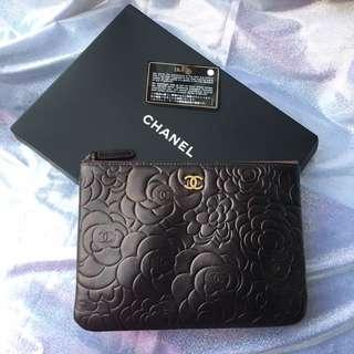 Chanel 山茶花clutch