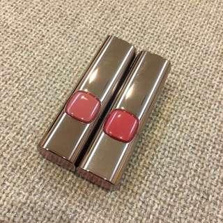 L'Oréal 巴黎萊雅 純色訂製唇膏 柔霧款 #233 氣質玫瑰 鬼怪金高恩色 #232知性裸粉