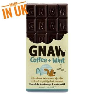 Gnaw Coffee + Mint Handcrafted Chocolate