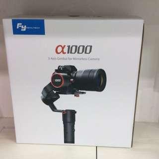 Feiyu Tech a1000 3axis Gimbal for mirrorless cameras