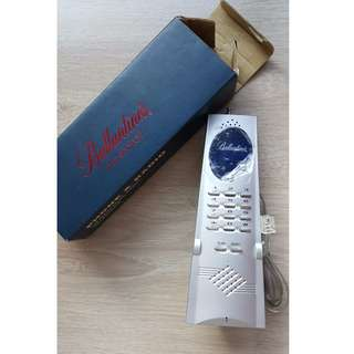 Ballantines Gift Vintage Antique FM Auto Scan Radio & Telephone 古董懷舊百齡罈贈品電話及收音機