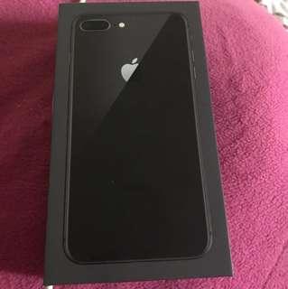 I phone 8 plus 256 gb space gray under warranty