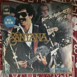 "She's Not There -Santana japan release 7"" Single Vinyl"