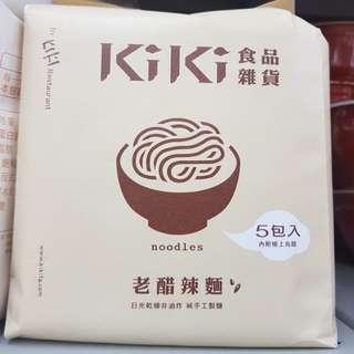 ✈大玩台灣代購✈ KIKI食品雜貨 老醋辣麵 舒淇麵