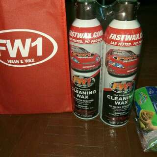 Fast wax polish