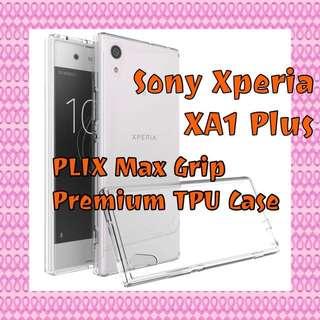 Sony Xperia XA1 Plus PLIX Max Grip Premium TPU Gel Casep