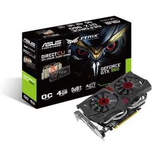 Asus STRIX GTX960 4GB
