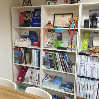 (辦公室) 中型書櫃(9成新)