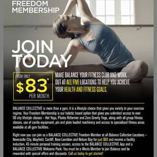 Balance Collective Membership