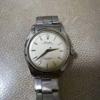 60年代男裝古董名表Rolex 中裝,原裝表帶