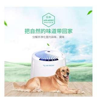 日本原裝進口  AirMedic 除臭抗菌洗淨機,目前開放經銷,沒有庫存壓力 ! 年度優惠中1/13改回原價