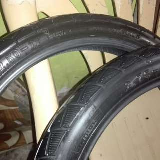 CST stock tire from wave 125 alpha