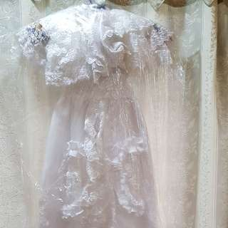 Baptism christening gown/dress for boy/girl