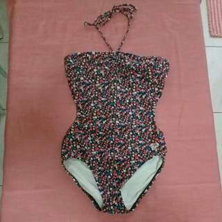 Roxy floral swimsuit