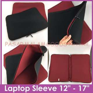 Instock BN Laptop Sleeve 13inch to 17inch