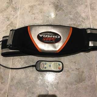 Vibro belly fat burn slimming waist belt massage