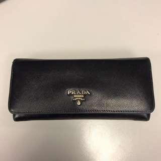 Prada continental wallet