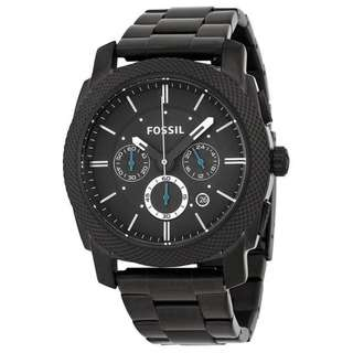 Fossil Men's Stainless Steel Chronograph Watch FS4552